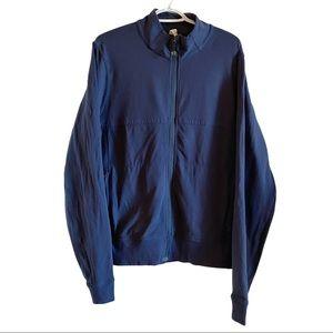 Lululemon zip up jacket marine blue